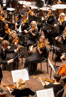 The proposed base salary for the Symphony's musicians was cut by half, down to $17,710.