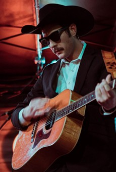 Garrett T. Capps officially debuts his new album I Love San Antone at the Paper Tiger on Friday.