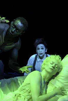 The film is a live recording of Julie Taymor's sold out stage production of Shakespeare's A Midsummer Night's Dream.