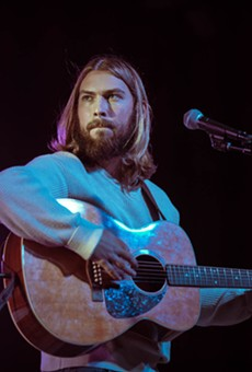 Singer-songwriter Cooper Greenberg hits up the Rustic on Thursday.