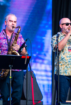 All the music fans and performers we saw Saturday at San Antonio's Jazz'SAlive festival
