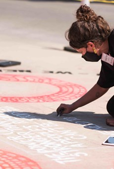 Featured artists will create chalk murals at various library branches across San Antonio for the event.
