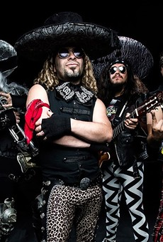 Metalachi's oddball combo of metal and mariachi brings all the metalheads from the barrio together.