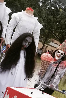 San Antonio's annual Zombie Walk is poised to usher in the living dead Oct. 30.