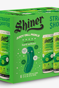 Texas' Shiner Beer releases new Juicy Dill Pickle Straight Shooter hard seltzer
