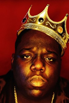 Biggie Smalls: the once and future king of rap.
