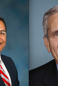 Rep. Will Hurd, District 23, and Rep. Lloyd Doggett, District 35