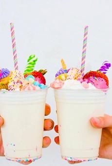 Starbucks Can't Hold A Candle to Honeysuckle's Unicorn Milkshake