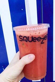 Juice up and cool down at Squeezers