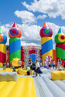 World's Biggest Bounce House Coming to San Antonio