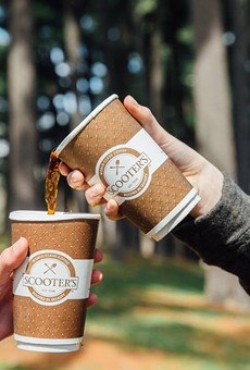 Scoot to Scooter's Coffee for Free Coffee this Friday