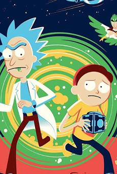 Get Schwifty with Rick and Morty-Inspired Art Show on St. Mary's Strip