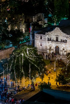 Don't Worry Guys, the Alamo is Still Going to Have a Christmas Tree