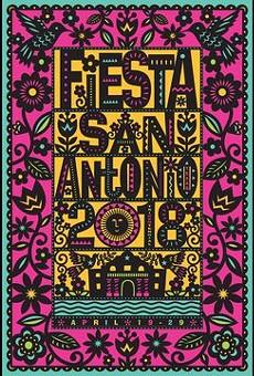 Fiesta San Antonio 2018 Poster Revealed