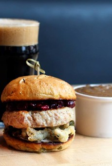 Hopdoddy Brings Back Turducken Burger — Because It's Not Christmas Yet