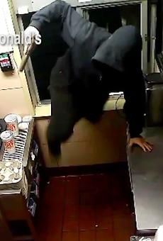 The Hamburglar Robbed an East Side McDonald's Wednesday Morning