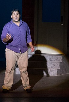 "Alex Montalvo playing Tony in ""West Side Story"""