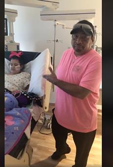 Tejano Singer Jay Perez Surprises 10-year-old Girl in Hospital
