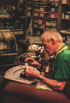 Celebrating Barney Smith, the Norman Rockwell of Toilet Seat Art
