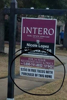 Houston Realtor Uses Tex-Mex Business Strategy, Offers Free Tacos with Purchase of Home