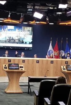 Members of Austin City Council vote Friday morning.