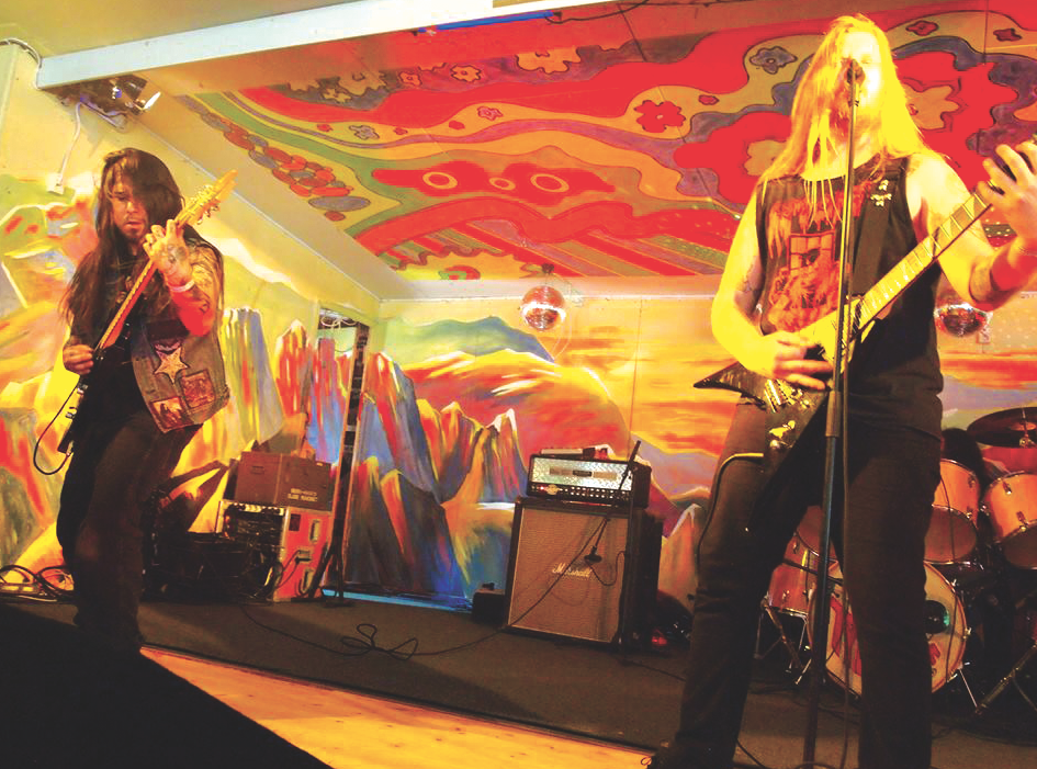 Aggravator performs at the Muskelrock Festival in Sweden. - COURTESY