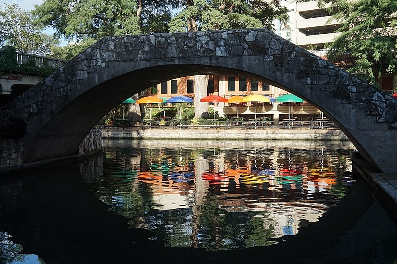San Antonio's abundant hotel rooms, in addition to its River Walk, helped make it a destination for business travelers. - WIKIMEDIA COMMONS