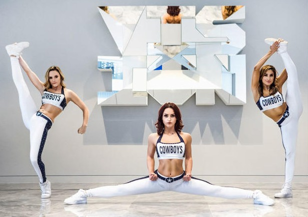 The Dallas Cowboys' Rhythm & Blue Dancers are holding a pop-up audition in the Alamo City. - VIA DALLAS COWBOYS WEBSITE