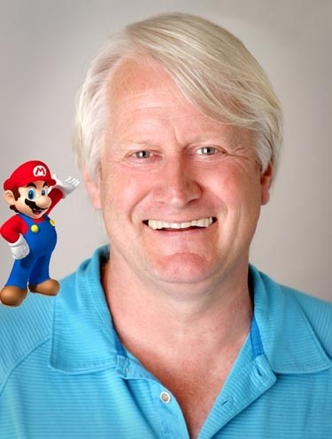 Charles Martinet, who'll be making an appearance at ACCC 2018, is best known for his voice work in the Super Mario Bros series. - COURTESY OF SMASHPEDIA