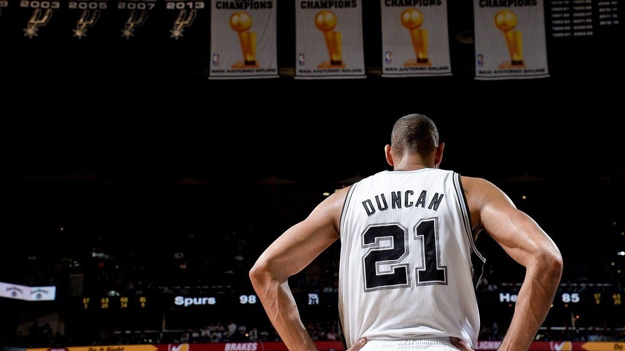 Legend Tim Duncan Said His Success with the Spurs  Put a Target  on ... 43754aa2a