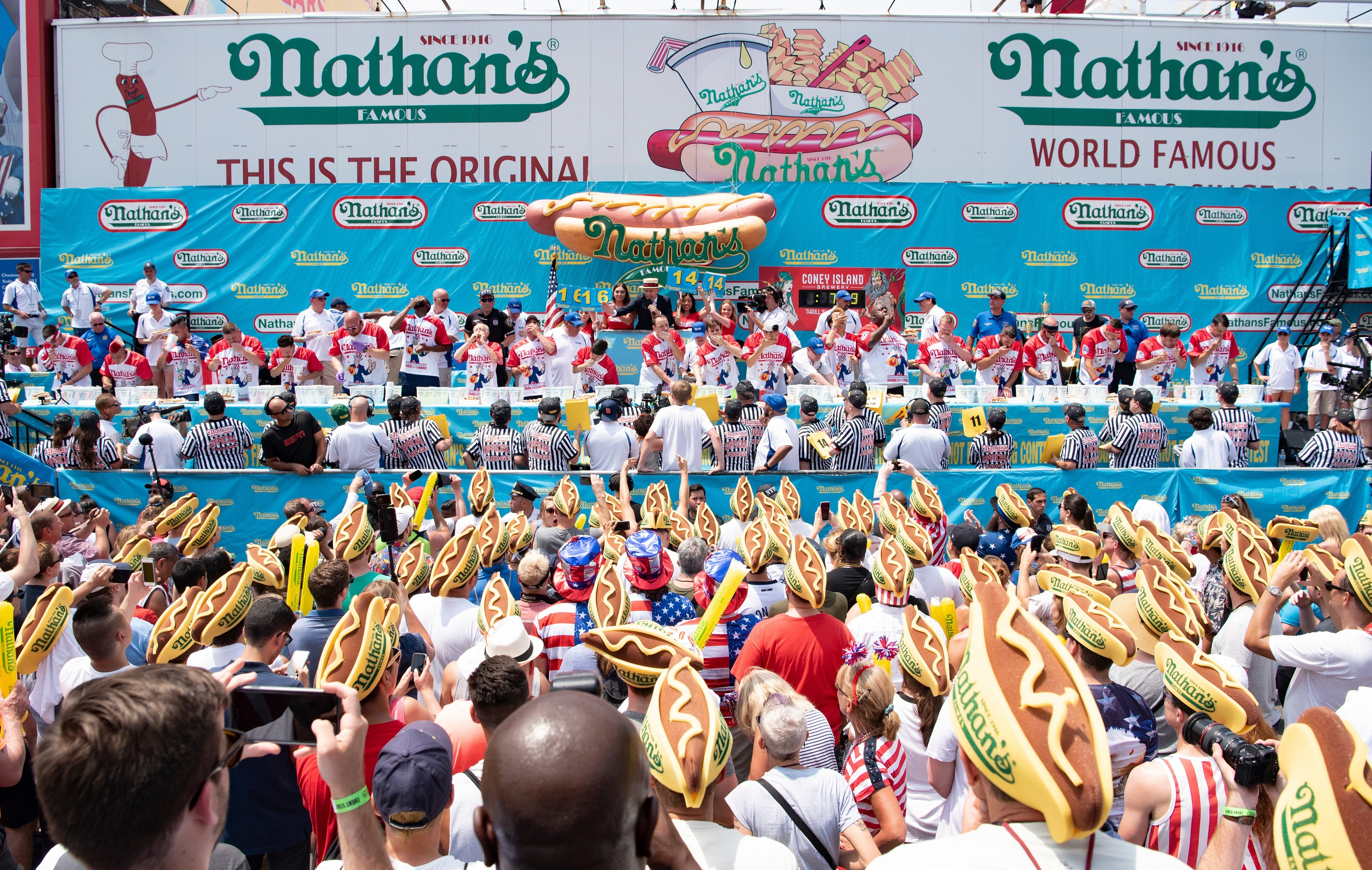 Nathan's Famous Brings 2019 Hot Dog Eating Qualifier to San Antonio