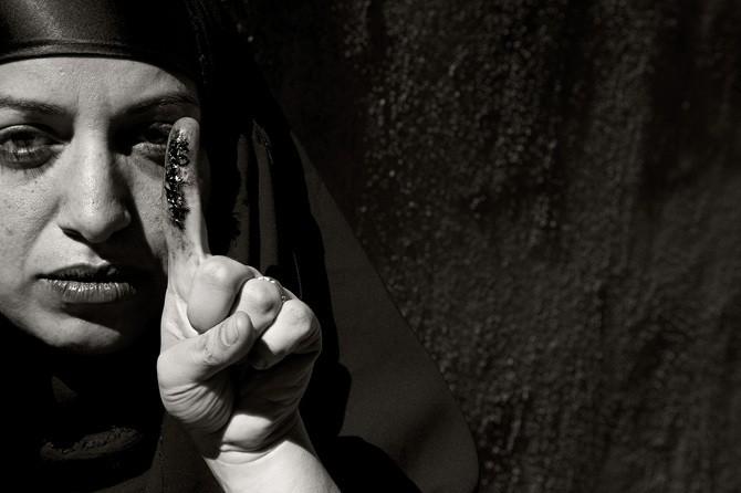 Sama Alshaibi, Between Two Rivers, 2008-2009 - COURTESY OF SAMA ALSHAIBI