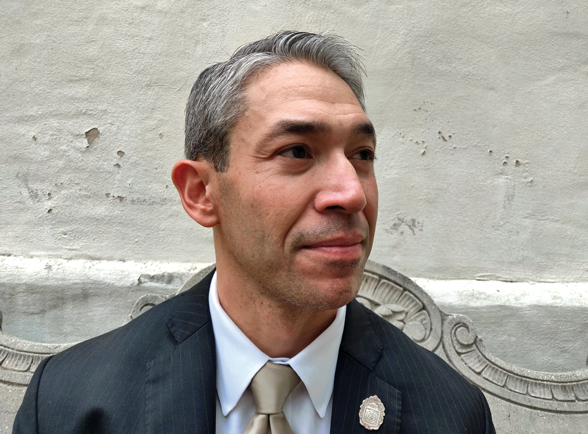 cd5153bb3f8 San Antonio Mayor Ron Nirenberg  Good to the Last Punch
