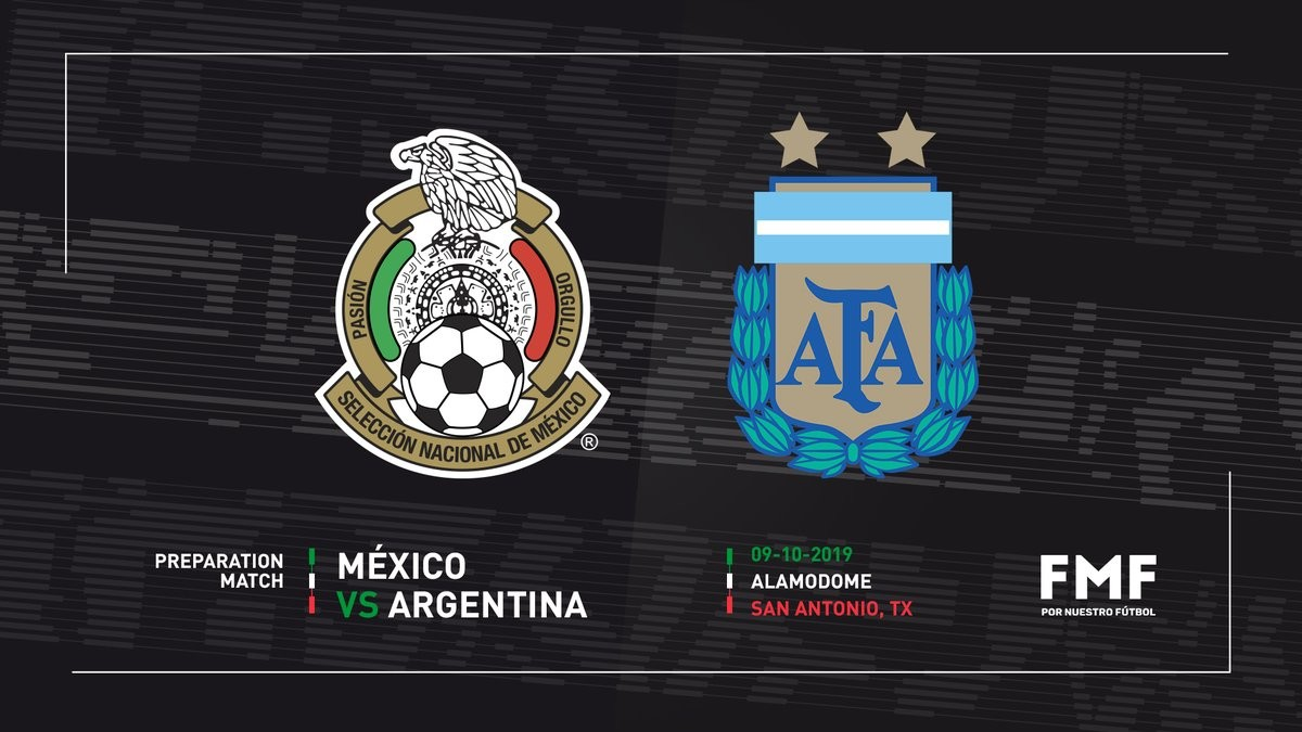 Argentina Announced As Mexico S Opponent In San Antonio