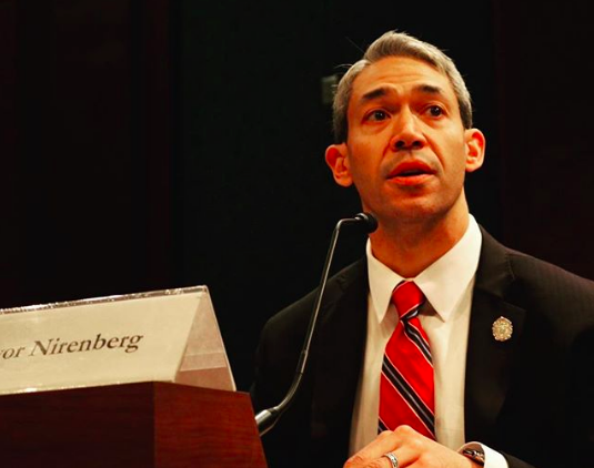 Mayor Ron Nirenberg and council will vote on a resolution urging lawmakers to act on gun legislation. - INSTAGRAM / RON_NIRENBERG
