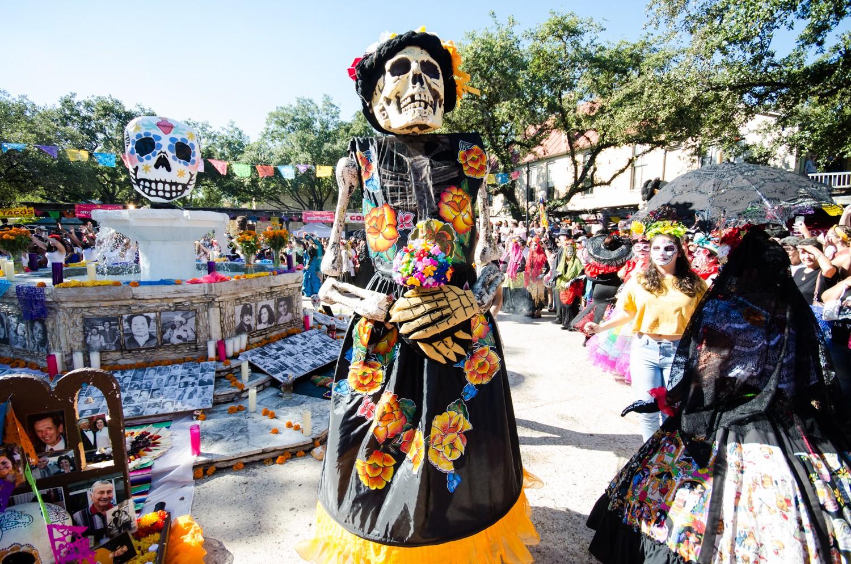 Where To Celebrate D 237 A De Los Muertos In San Antonio This