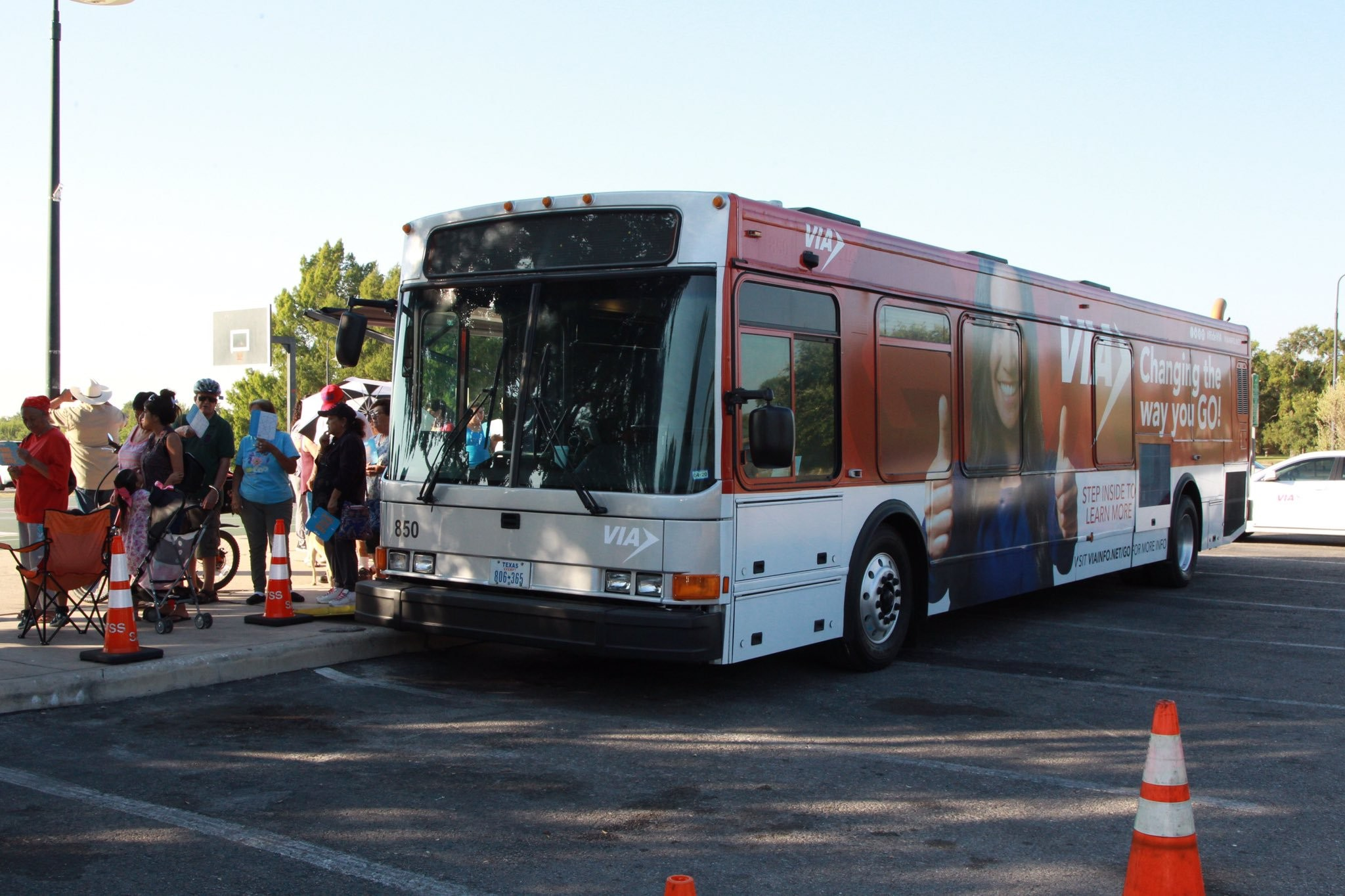 Via Offering Free Rides For San Antonio Voters On Election Day The Daily