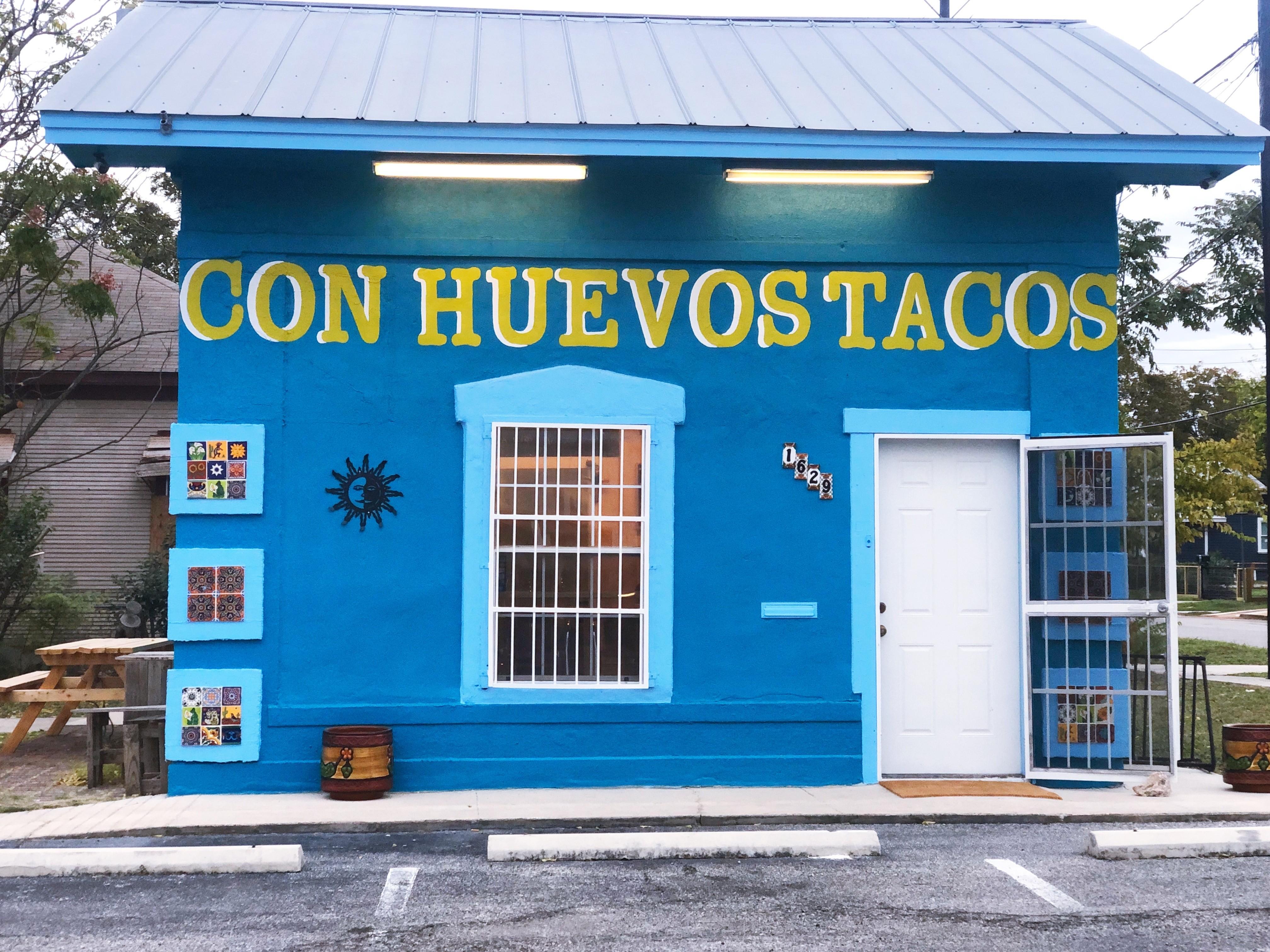 New Breakfast Taco Spot Con Huevos Opens on San Antonio's East Side