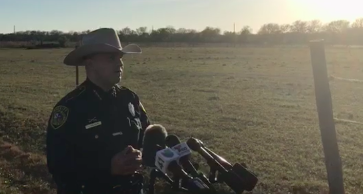 Body Burned Beyond Recognition Found in Field in Southwest Bexar County