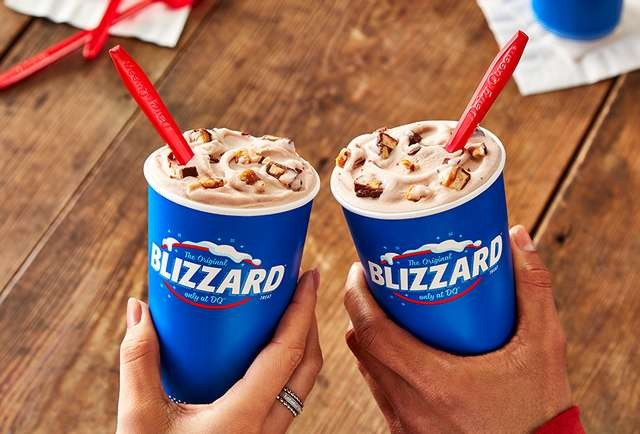 In downtown Stamford, a Dairy Queen becomes a landmark