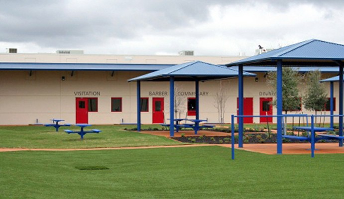 This detention facility in Karnes County is located an hour Southeast of San Antonio. - WIKIMEDIA COMMONS / STUART SEEGER