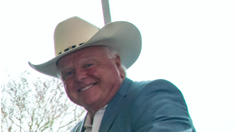 Sid Miller yucks it up at a recent U.S. Department of Agriculture event. - WIKIMEDIA COMMONS / USDA PHOTO BY LANCE CHEUNG