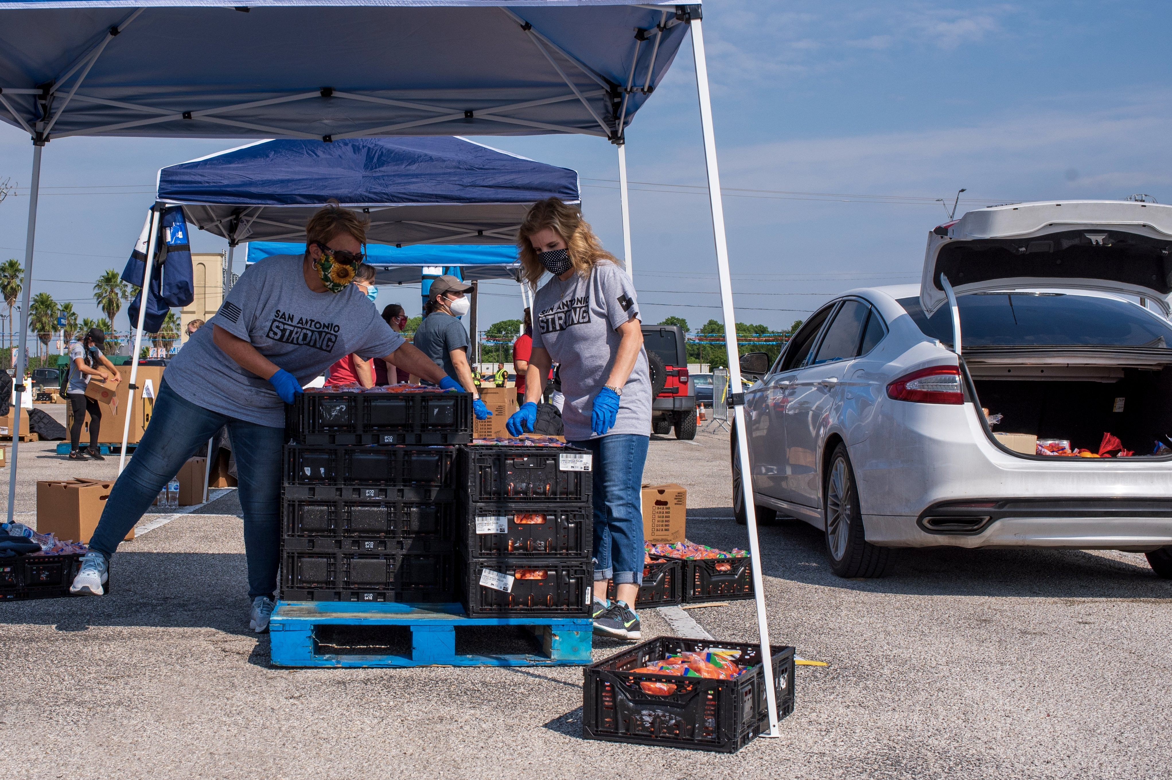 San Antonio Halloween Volunteer 2020 San Antonio Food Bank Puts Out Emergency Call for Volunteers   Flavor