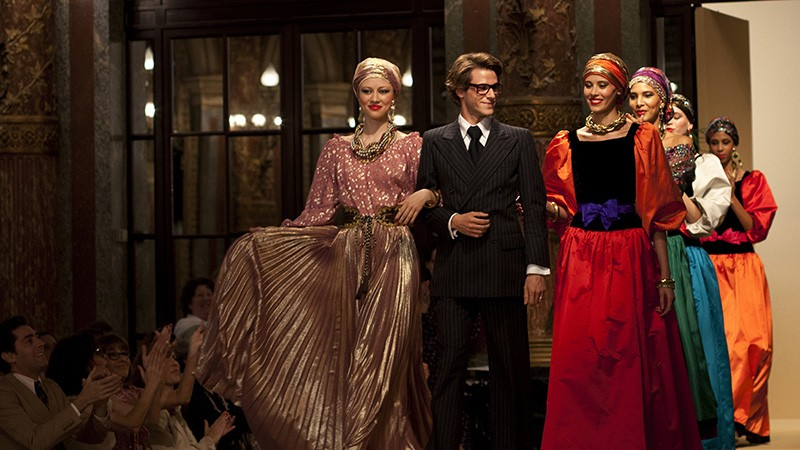 Bertrand Bonello's stylish biopic features Gaspard Ulliel as legendary fashion designer Yves Saint Laurent. - CAROLE BETHUEL/SONY PICTURES CLASSICS