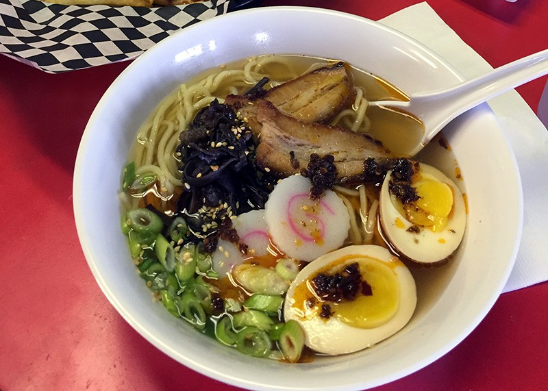 Quality over quantity at Nama Ramen, where noodle options are limited but worth it. - TAYLOR ALLEN