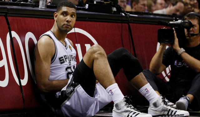 Tim Duncan's former financial advisor is seeking a change of venue for the lawsuit. - VIA USA TODAY/SPORTS ILLUSTRATED