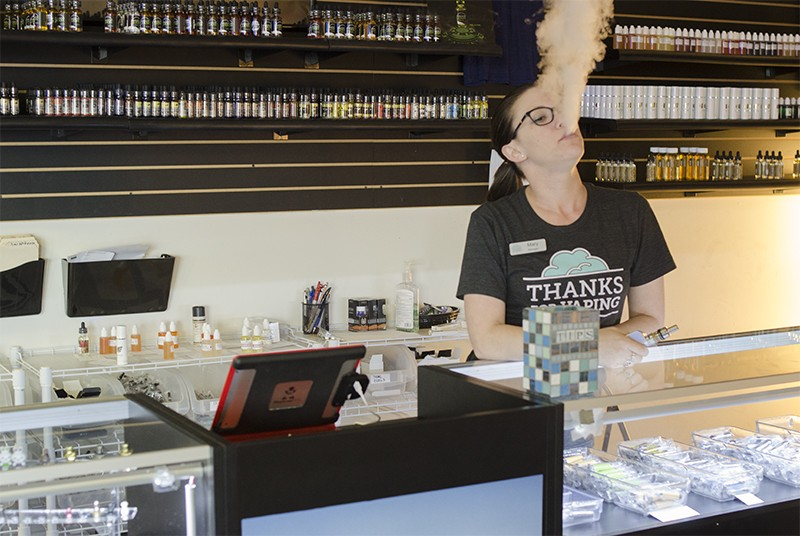 SA entrepreneurs are jumping all over the city's fast-growing vaping scene, which is evolving into a culture of its own. - SARA LUNA ELLIS