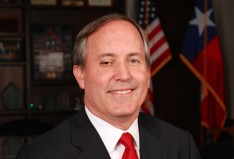 Texas Attorney General Ken Paxton says the U.S. Constitution allows government officials to ignore the U.S. Constitution. - COURTESY