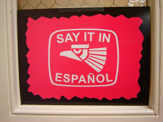 The United States will be the largest Spanish-speaking country by 2050. - VIA FLICKR USER ::: MER :::