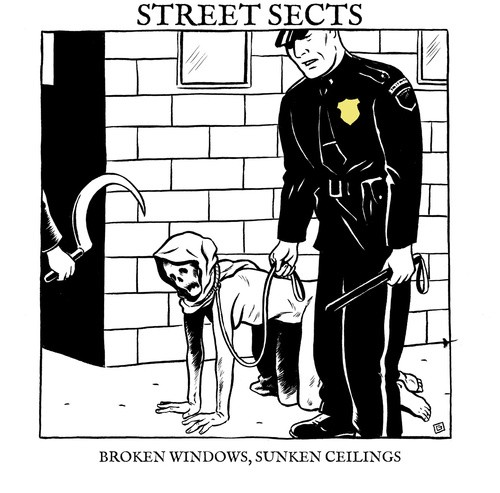 The exceptional cover of Street Sect's Broken Windows, Sunken Ceilings - COURTESY